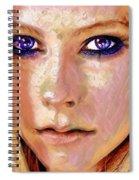 Queen Lavigne Spiral Notebook