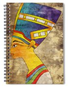 Queen Of Ancient Egypt Spiral Notebook