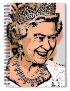 Queen Of Diamonds Spiral Notebook