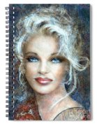 Queen Of Glamour Bright Spiral Notebook