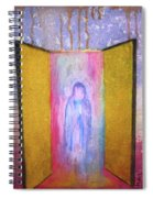Queen Of Heaven Spiral Notebook