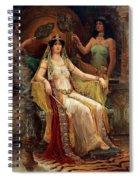 Queen Of Sheba Spiral Notebook