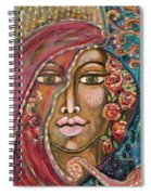 Queen Of The Cosmos Spiral Notebook