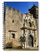 Queen Of The Missions - San Jose Spiral Notebook