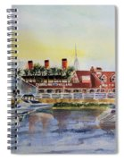 Queen Of The Shore Spiral Notebook