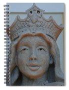 Queen Sandy Spiral Notebook