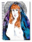 Queen Sof The Universe  Spiral Notebook