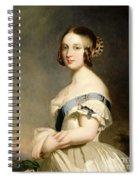 Queen Victoria Spiral Notebook