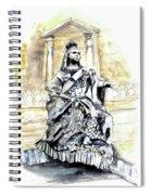 Queen Victoria In Valletta Spiral Notebook