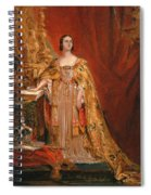 Queen Victoria Taking The Coronation Oath 28 June 1838 Spiral Notebook