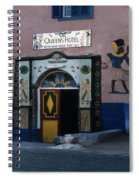 Queen's Hotel Habou Egypt Spiral Notebook