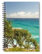 Queensland Coastline Spiral Notebook