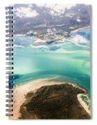 Queensland Island Bay Landscape Spiral Notebook