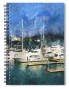 Queensland Marina Spiral Notebook