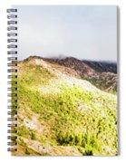 Queenstown Tasmania Wide Mountain Landscape Spiral Notebook