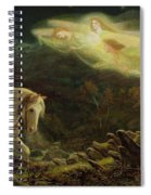 Quest For The Holy Grail Spiral Notebook