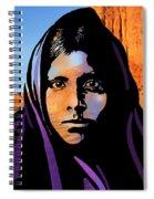 Quhatika Girl Spiral Notebook
