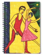 Quick Sketch For Nutcracker Act 1 Impressions Spiral Notebook
