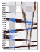 Quiet Abstract Spiral Notebook