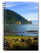 Quiet Bay Spiral Notebook