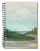 Quiet Beach Spiral Notebook