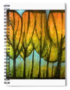 Quiet Blaze Spiral Notebook