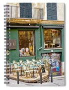 Quiet Cafes In Palma Majorca Spain   Spiral Notebook