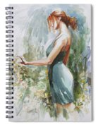 Quiet Contemplation Spiral Notebook