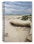 Quiet Day At The Beach Spiral Notebook