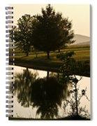 Quiet Harvast Spiral Notebook