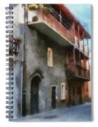 Quiet In Almenno San Salvatore Spiral Notebook