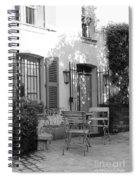 Quiet Moment  At Saint -  Tropez Spiral Notebook