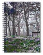 Quiet Moment V2 Spiral Notebook