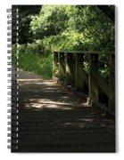 Quiet Path Bridge Spiral Notebook