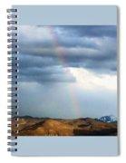 Quiet Rainbow Spiral Notebook