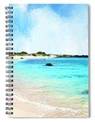 Quiet Shore Near Makalawena Spiral Notebook