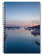 Quiet Solitude Rockport Harbor Spiral Notebook