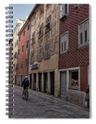 Quiet Street In Rovinj - Croatia Spiral Notebook