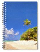 Quiet Tahiti Beach Spiral Notebook