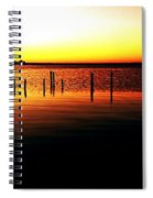 Quiet Time At Lake Mary  Spiral Notebook