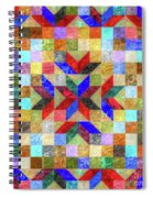 Quilt Pattern No. 1 Spiral Notebook