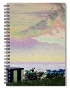 Quilted Cloud Spiral Notebook