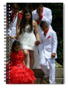 People Series - Quinceanera Ceremony  Spiral Notebook