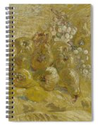 Quinces, Lemons Pears And Grapes Paris, September - October 1887 Vincent Van Gogh 1853  1890 Spiral Notebook