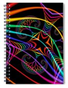Quite In Different Colors -3- Spiral Notebook