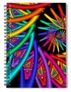Quite In Different Colors -4- Spiral Notebook