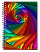 Quite In Different Colors -6- Spiral Notebook