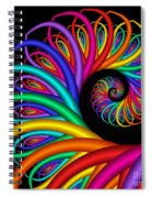 Quite In Different Colors -8- Spiral Notebook