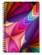 Quite In Different Colours -15- Spiral Notebook