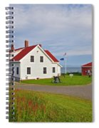 Quoddy Head Lighthouse Spiral Notebook